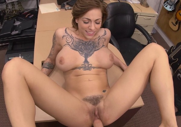 XXXPawn.com - Harlow Harrison - Tattooed Harlow gets needled and inked [SD 480p]