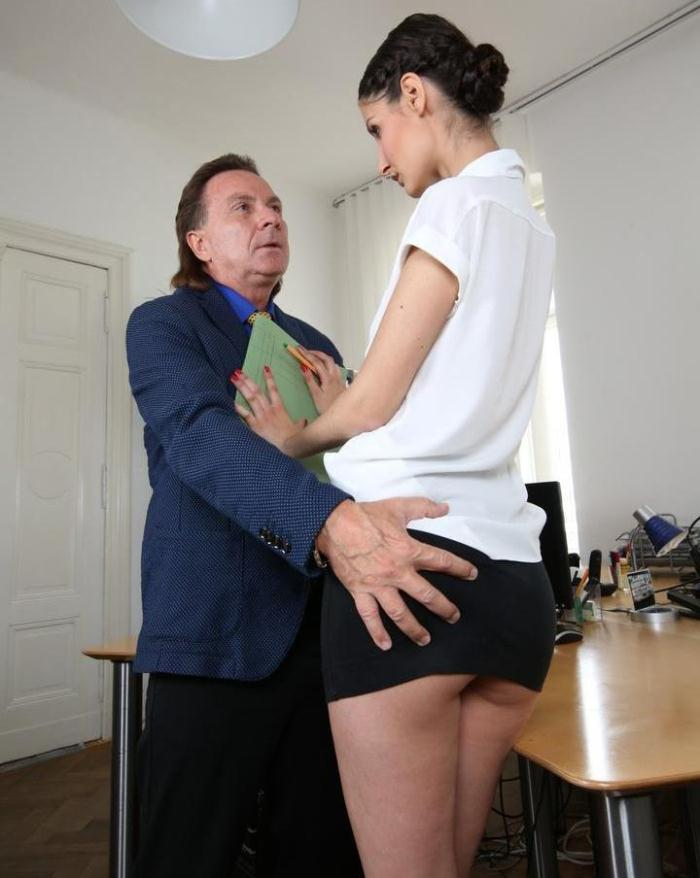 Coco Kiss, Mareen Deluxe - German office sex adventures with boss, secretary and peeking coworkers  [HD 720p]