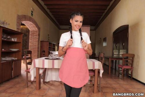 B4ngBr0sClips.com [Apolonia Lapiedra - Hot Waitress Serves a Hot Dish] SD, 480p