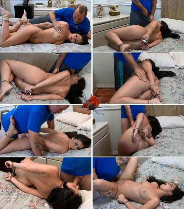 Helpless 19 year Brittany is bound to forced fuck [HD 720p]