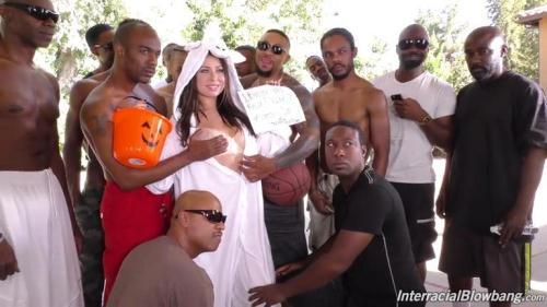 InterracialBlowbang.com [Melissa Moore - BTS] SD, 432p