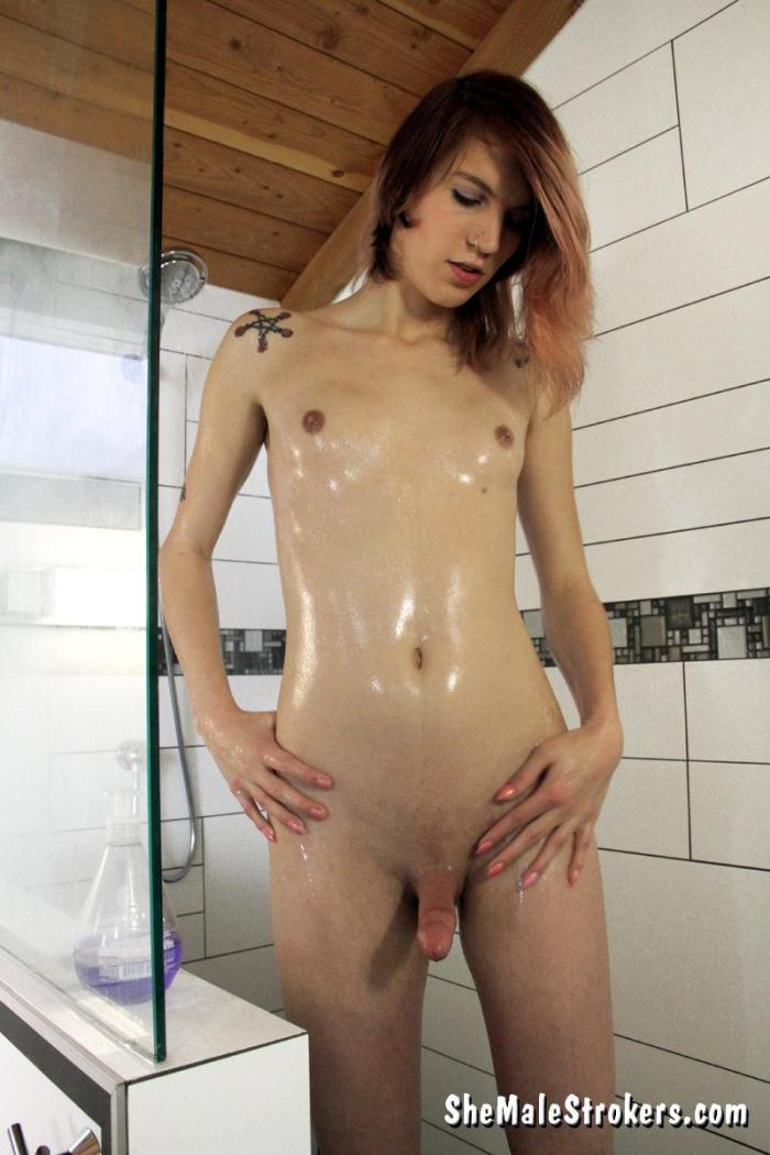 Sh3M4l3Str0k3rs: Freya Wynn - Sultry Trans Girl Wants To Get Hot, Wet And Sticky With You! (FullHD/1080p/718 MB) 10.14.2016