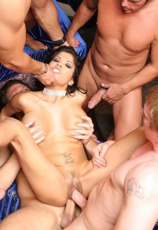 WestCoastGangBangs: Alexis Amore - From Lima, Peru  [SD 404p]  (Group)