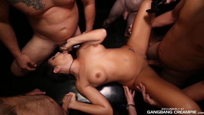 GangbangCreampie.com - Gangbang Creampie 79 - Toni (Group sex, Interracial) [SD, 400p]