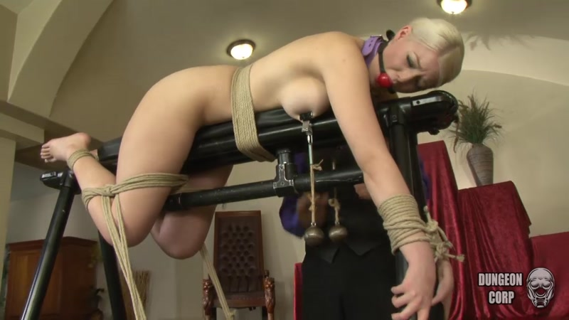 Jenna Ivory - A Thorough Introduction - Part 3 (Torture, Spanking) [Dungeoncorp / HD]