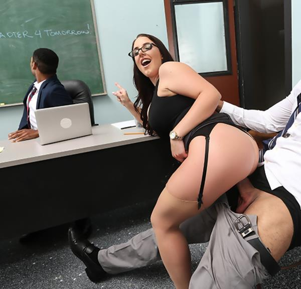 BigTitsAtSchool.com - Karlo Karerra, Angela White - Parent Fucking Teacher Meetings! [HD 720p]