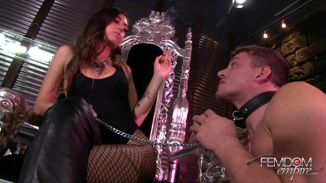FemdomEmpire: Shane Blair - Human Ashtray Abuse (FullHD/2016)