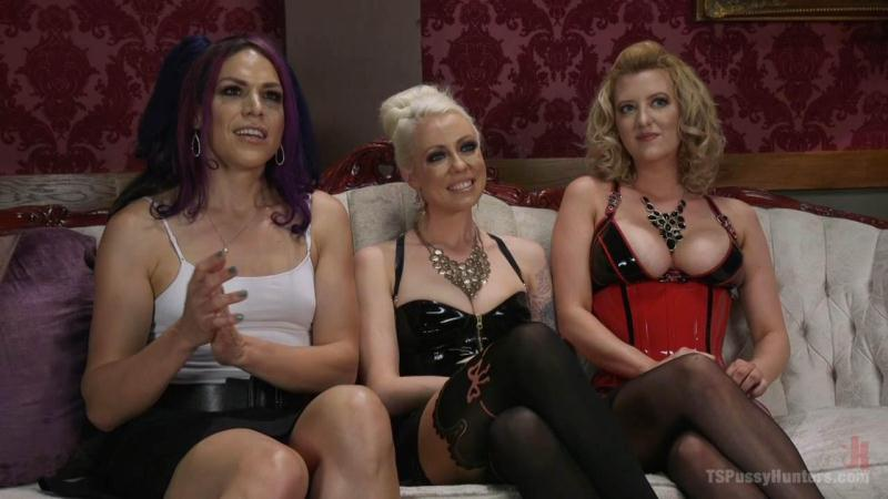 Lorelei Lee, Kelli Lox, Cherry Torn - Shemale on female (10.10.2016) [TSPussyHunters, Kink / HD]