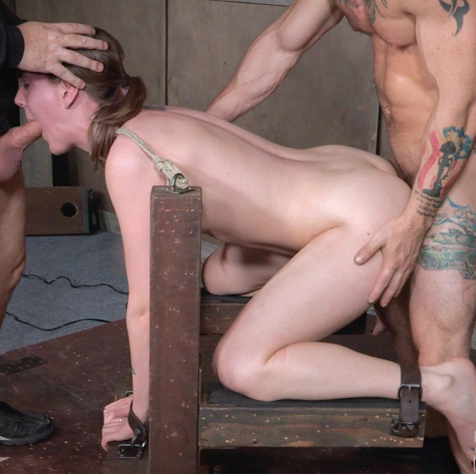 SexuallyBroken: Sierra Cirque - Cute girl next door, suffers brutal deepthroating and rough fucking, extreme bondage and sex!  [HD 720p] (1.01 GiB)