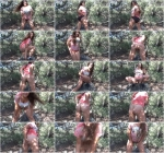 Pooping in the Forest - Outdoor Solo Scat (Scat Porn) FullHD 1080p