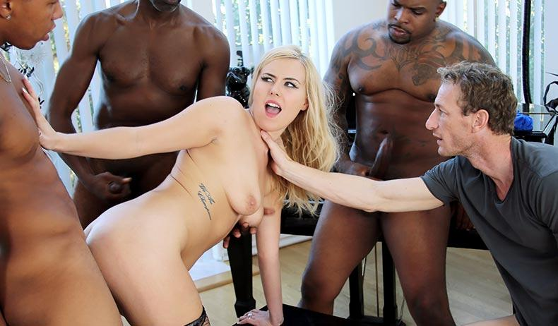 Summer Day - Interracial Anal Sex with Blonde (16.10.2016) [DogFartNetwork / SD]
