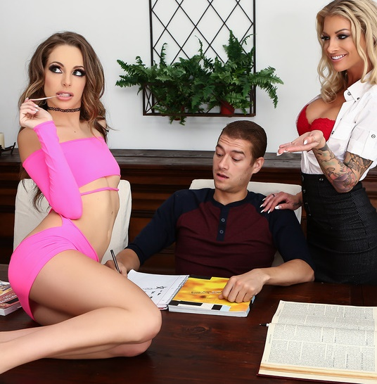 MomsInControl: Kimmy Granger, Synthia Fixx - Homeschool Sex Ed  [SD 480p]