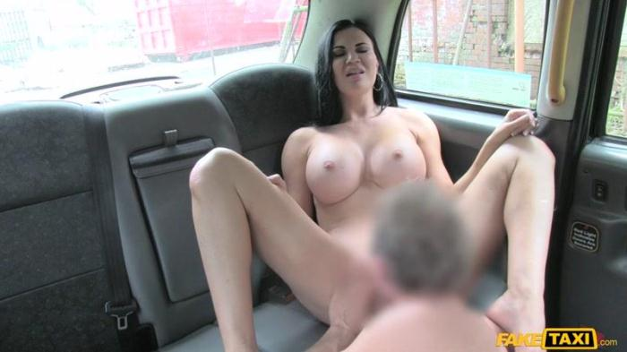 F4k3T4x1.com - Jasmine Jae - Hot Sexy Big Tits and Tight Jeans (Milf, Sex in car) [SD, 480p]