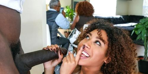 Dontfuckmydaughter.com [Kendall Woods - Squirting ebony daughters are the best kind of daughters to fuck] SD, 480p