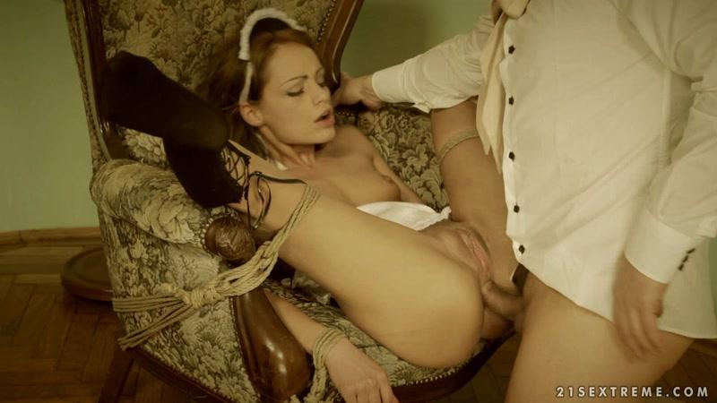 DominatedGirls.com: Sophie Lynx - Sex with Bondage [FullHD] (1.16 GB)