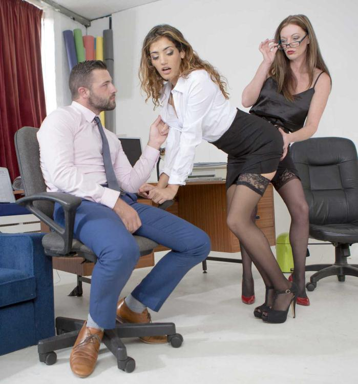 Babes: Holly Kiss, Penelope Cum - Kiss And Tell  [HD 720p]  (Threesome)