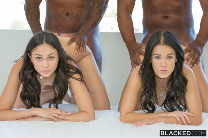 Bl4ck3d.com - Stepsisters Share Everything (Teen, Interracial) [SD, 480p]