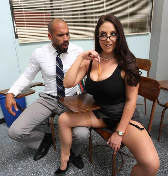 Angela White - Parent Fucking Teacher Meetings!  [HD 720p]
