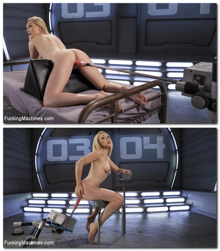 Lily LaBeau - Hot Blond Lily LaBeau is Machine Fucked  [HD 720p]