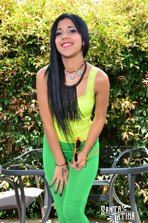 With Stud Latina Teen 13
