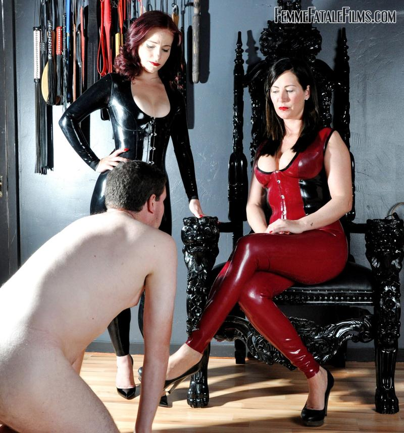 FemmeFataleFilms - Mistress Charlotte, Mistress Lola Ruin [Impertinence Punished] (HD 720p)