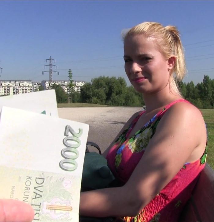 PublicAgent: Ebba Sofie - Flower Dress Beauty Fucks for Cash  [FullHD 1080p]  (Amateur, Public)
