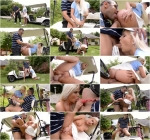 H4nds0nH4rdc0r3.com - Candee Licious - Deep Throat Warmup - Golf Instructor Fucks Hot Blonde (Teen) [SD, 360p]
