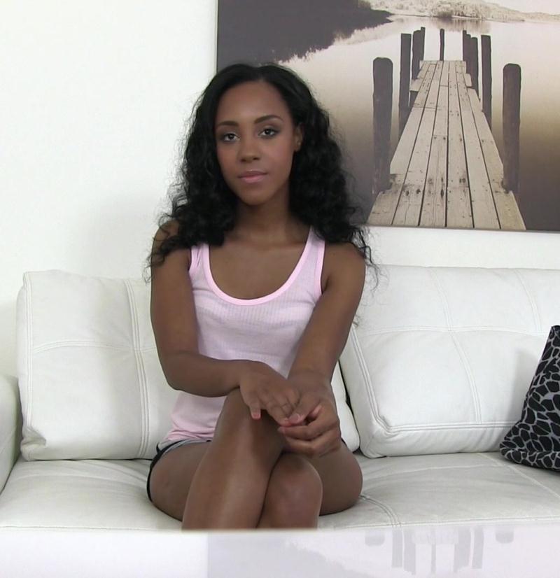 FakeAgent - Noemilk [Ebony beauty fucked hard in casting] (HD 720p)