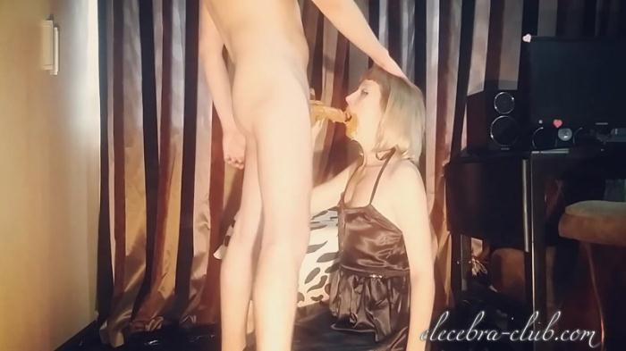 Shit mouth full throat drilling - Femdom Scat (Scat Porn) FullHD 1080p