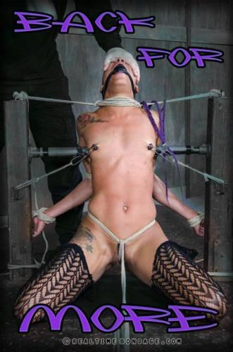 RealTimeBondage.com [Nikki Darling - Back for More Part 1] HD, 720p