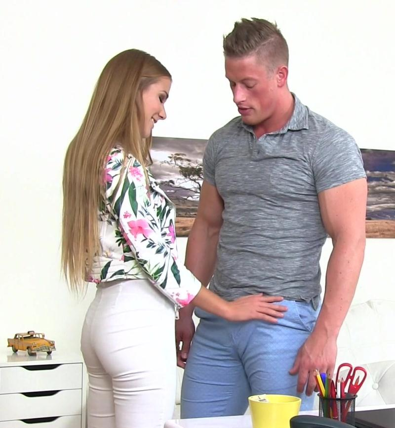 Alexis Crystal, Tomas ~  Stud cums in horny agents hot mouth  ~  FakeAgent ~  FullHD 1080p