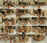 SexySasha & Dirtygardengirl prolapse balls fun [HD, 720p] [DirtyGardenGirl.com] - Fisting