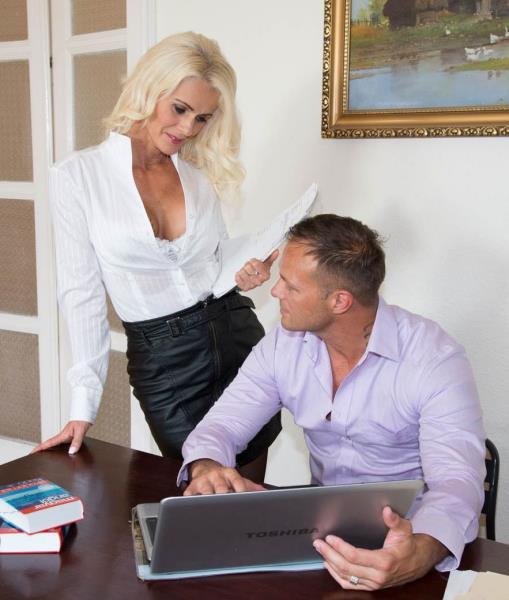 (Private.com) Dyana Hot - Milf Secretary Dyana Hot Fucks Her Boss in the Office (FullHD/1080p/895 MB/2016)