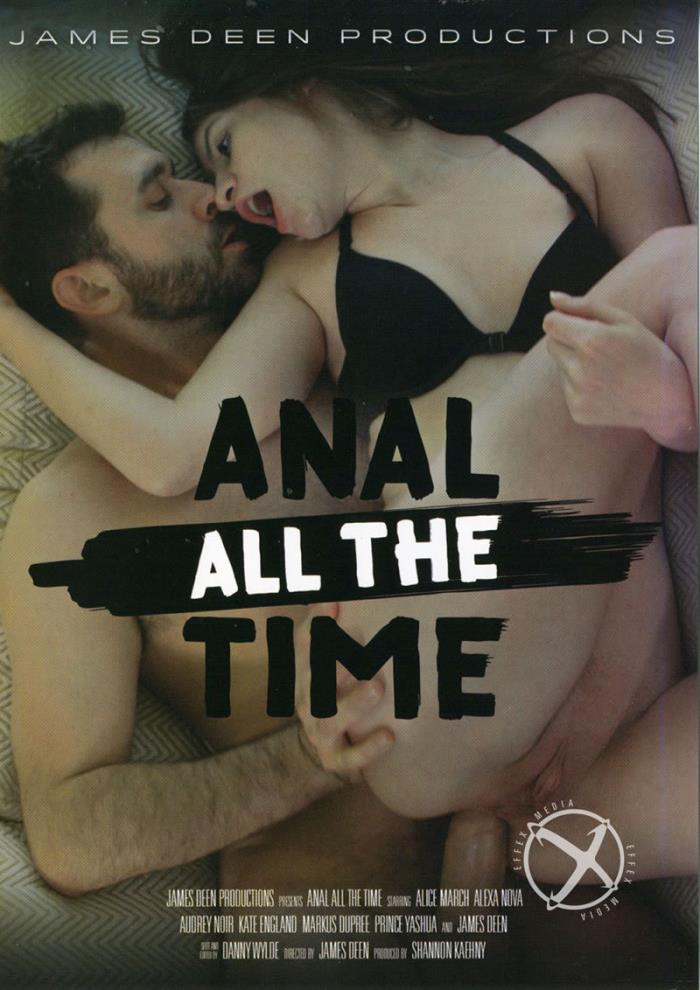 James Deen Productions - Alice March, Kate England, Alexa Nova, Audrey Noir, James Deen [Anal All The Time] (DVDRip 406p)