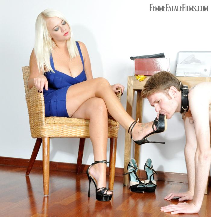 FemmeFataleFilms: Divine Mistress Heather - Stiletto Heel Love  [HD 720p]  (Femdom)