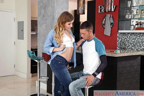 MyS1st3rsH0tFr13nd.com [Alex Blake - Cum in Mouth Brunette] SD, 360p