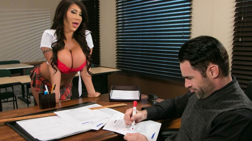 BigTitsAtSchool/Brazzers: August Taylor - Whats My Grade Again?  [SD 480p]  (Big Tit)