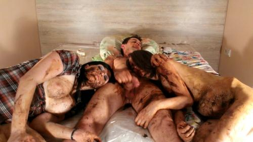 Scat [Scat Pigs Filthy Trio Complete Version Part 8 - Group Scat Porn] FullHD, 1080p