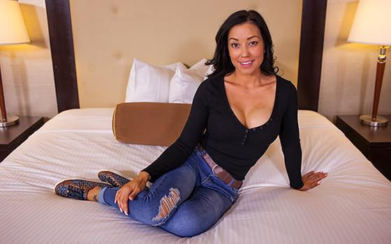 M0mP0v.com - Emi - Married Petite Little MILF With Curves - Е404 (Casting) [SD, 360p]