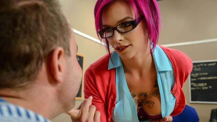 BigTitsAtSchool.com - Anna Bell Peaks - Sexy Pictures Worth A Thousand Words [SD 480p]