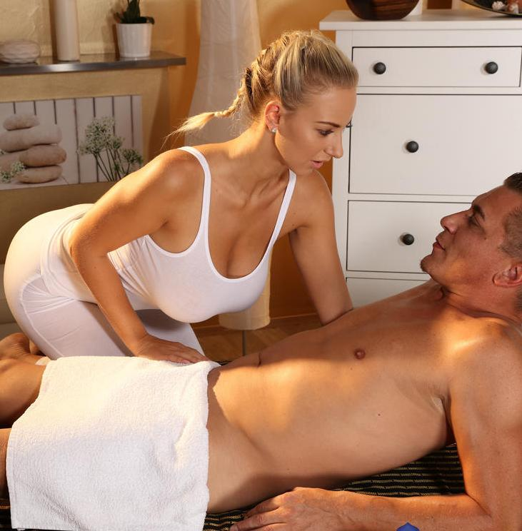 MassageRooms: Nathaly Cherie - Big boobs blonde fucks big dick  [HD 720p] (543 MiB)