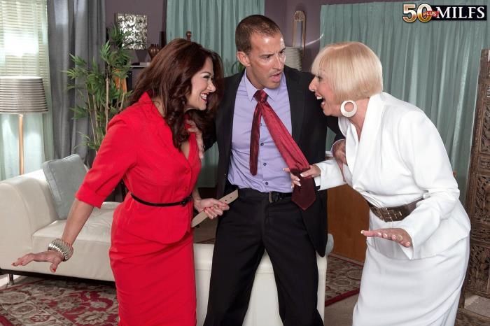 50PlusMilfs - Scarlet Andrews, Renee Black - Mature Women Know How To Get It Work (720p / HD)