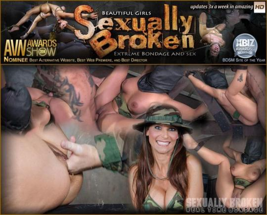 SexuallyBroken: Hot Cougar is hooded and brutally fucked while bound helpless, non-stop squirting orgams! (SD/540p/188 MB) 30.11.2016