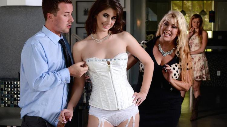 Karina White - Say Yes To Getting Fucked In Your Wedding Dress / 14 November 2016 [R34lW1f3St0r13s, Br4zz3rs / SD]