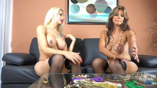 4ng3l3sC1d: Angeles Cid & Naomi Chi - Jewels in the Raw (HD/810p/443 MB) 29.11.2016