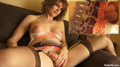 DeliaTS.com [Delia DeLions - Orange and Cream] FullHD, 1080p
