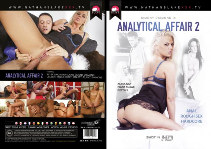 Nathan Blake: Alysa Gap, Destiny, Ivana Sugar, Simony Diamond - Analytical Affair 2 [WEBRip/HD 720p]