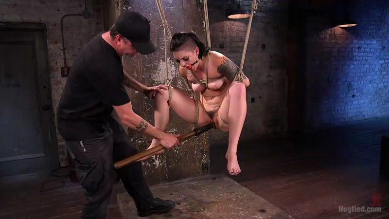 H0gT13d.com: Rachael Madori - Slut Begs for Extreme Bondage and Grueling Torment to Make Her Cum [SD] (400 MB)