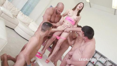 LegalPorno.com [Gabriella 7on1 Sperma party with 12 cumshot. No Pussy /Ball Deep Anal /Dap /Gapes GIO263] SD, 480p