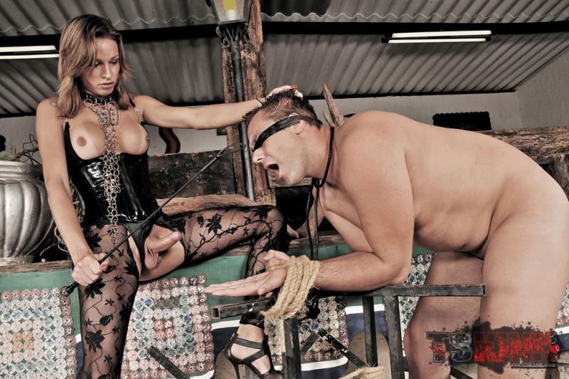 TSKink/TrannyPack: Dany de Castro - Bossy Tranny Mistress Dany de Castro [HD 720p] (440 MB)